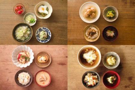 月毎のレシピとお料理実習