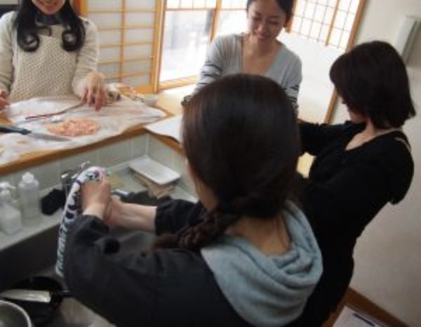 和食講座@横浜3月終了、次回は5月です^。^
