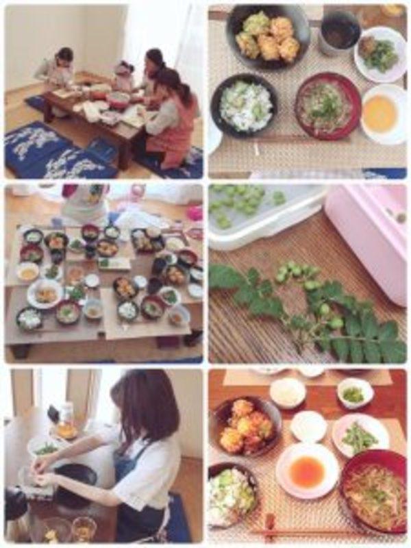 ヨギー・ヨギーニの四季の和食こしらえ人講座、6月レシピ^^