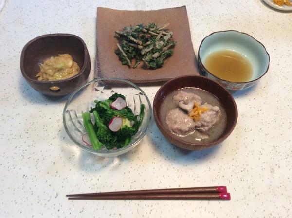 静岡も協会の和食講座で1月のレシピやってましたー!